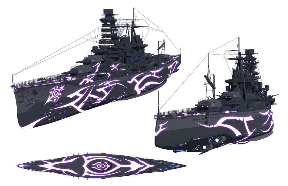 蒼藍鋼鐵戰艦 金剛 | 莉絲塔の夢想世界